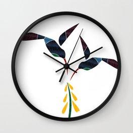 Humming Birds Wall Clock