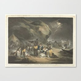 African Hospitality, John Raphael Smith, after George Morland, 1762 - 1812 Canvas Print