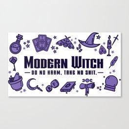 Modern Witch Do No Harm Canvas Print