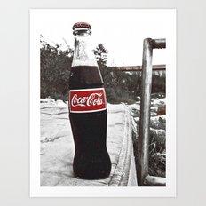 There's always Coke Art Print