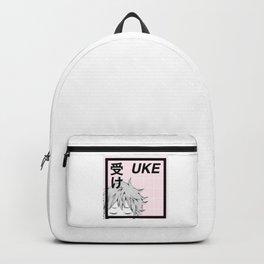受け Uke - Aesthetic Manga Edit Backpack