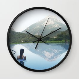 The Mirror Wall Clock