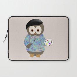 Owl Art is Subjective Laptop Sleeve