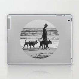 beach walk Laptop & iPad Skin