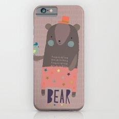 Big Bear and Bluebird Pink Slim Case iPhone 6s