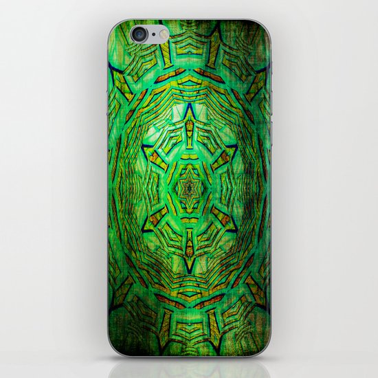 Mandala Pattern and Texture iPhone & iPod Skin