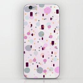 Watercolor Splash Effect Pattern iPhone Skin
