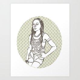 Stunna Art Print
