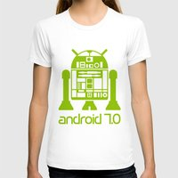 android T-shirts featuring Android 7 by andyk77