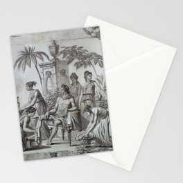Apollo and Muses Circa 1785 Stationery Cards