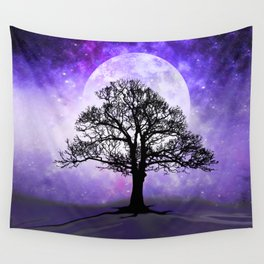 Enchanted Ancestral Tree Wall Tapestry