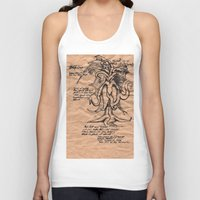 lovecraft Tank Tops featuring Lovecraft Series: the Old Ones by Furry Turtle Creations