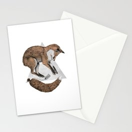 The Fox Who Lost His Tail Stationery Cards