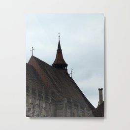 The Black Church Metal Print