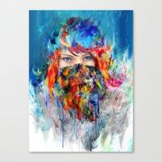 frozen princess Canvas Print