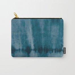 Tye Dye Denim Carry-All Pouch