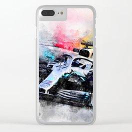 Hamilton 2019 Clear iPhone Case