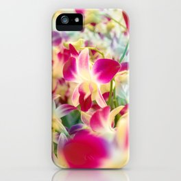Orchids In Thai iPhone Case