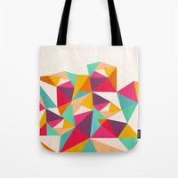 diamond Tote Bags featuring Diamond by Kakel