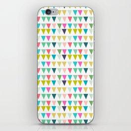 geometrics colors iPhone Skin