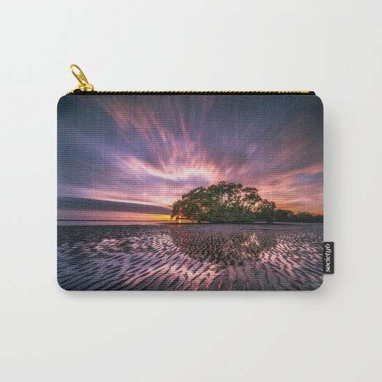 Landscape reflection 2 waves sky Carry-All Pouch