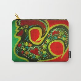 Portuguese Rooster 2 Carry-All Pouch