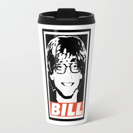 Young Bill Gates Travel Mug