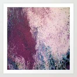 Crushed Velvet Art Print