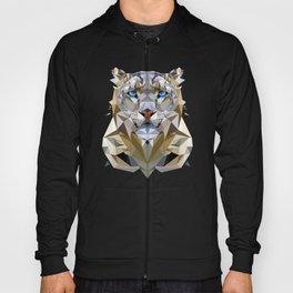 White Leopard Hoody