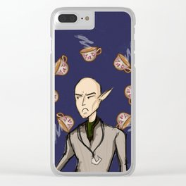 Dragon Age: Solas the #1 tea hater Clear iPhone Case