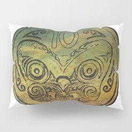 Pounamu 10c tiki Pillow Sham