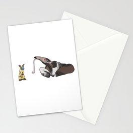 Masks On Stationery Cards