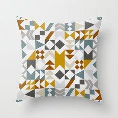 Mid West Geometric 06 Throw Pillow