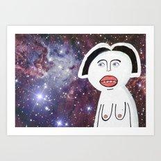 Woah. Art Print