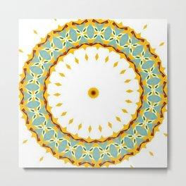 Eyecatching Sunlighter Mandala 2 Metal Print