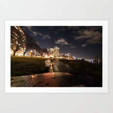 English Bay Long Exposure Art Print