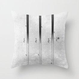 Billiard Cue Throw Pillow