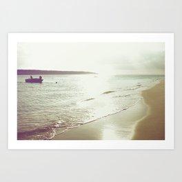 return from the sea Art Print