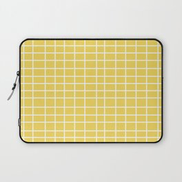 Squares of Yellow Laptop Sleeve