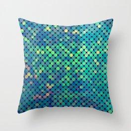 Green Forest Dream Throw Pillow