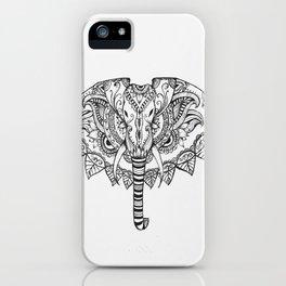 Hannah The Elephant iPhone Case