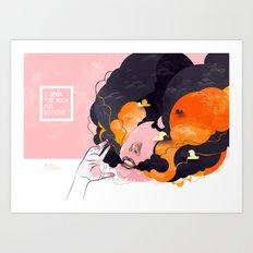 No Human #3 Art Print