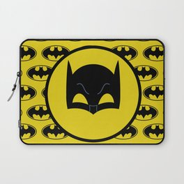 Super Hero Bat Shield Laptop Sleeve