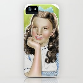 Judy Garland as Dorothy Gale iPhone Case