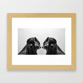 I had a dream I was a werewolf Framed Art Print