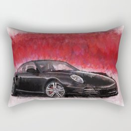 Porsche 911 Turbo Rectangular Pillow