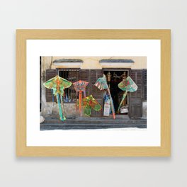 Hoi An Old Town Framed Art Print