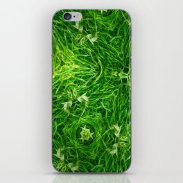 The Mystery Of The Grass iPhone Skin