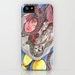 The Beautiful Duckling iPhone Case