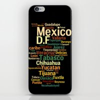 mexico iPhone & iPod Skins featuring Mexico by Carlos Viedma . com